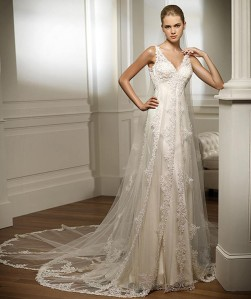 Robe Rosa, Pronovias, 1600€, photo catalogue Pronovias